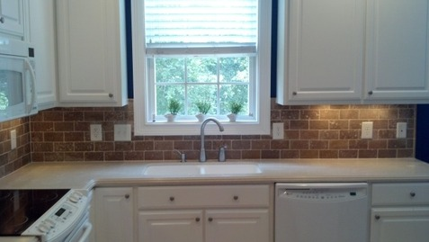 Kitchen Backsplash By Window backsplashes - 1-800-921-8431